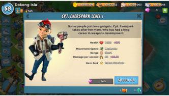 Boom Beach's Captain Everspark First Impressions