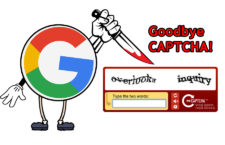 Google declares Death Sentence of CAPTCHA Codes