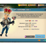 Captain Everspark is the Best Boom Beach Hero for Tanks