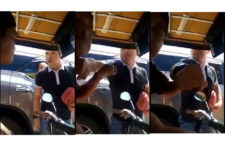Rich Man Punching Tricycle Driver caught on video